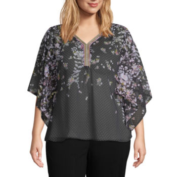 Plus Size Loose Fit Tops For Women Jcpenney