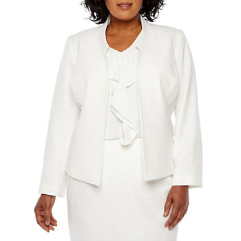 c5f8767c90 Plus Size White Suits & Suit Separates for Women - JCPenney