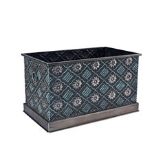 Household Essentials® Large Chelsea Metal Storage Box