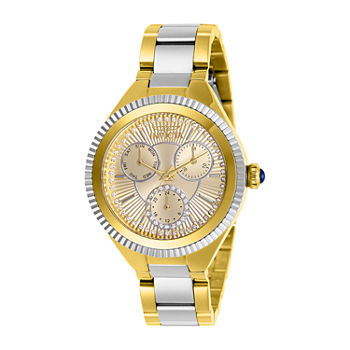 Invicta Angel Womens Two Tone Stainless Steel Bracelet Watch - 28821