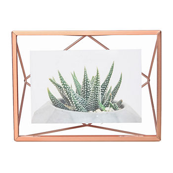 Umbra Prisma Photo Display 4x6 Copper 1-Opening Tabletop Frame