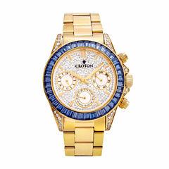 Croton Womens Gold Tone Bracelet Watch-Cn307565ylbl