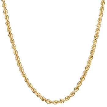 yellow dp necklace s chain mens amazon cuban men com gold