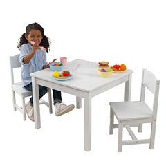 KidKraft® Aspen Table and 2 Chair Set - White