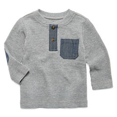 Arizona Long Sleeve Henley Shirt - Baby Boys