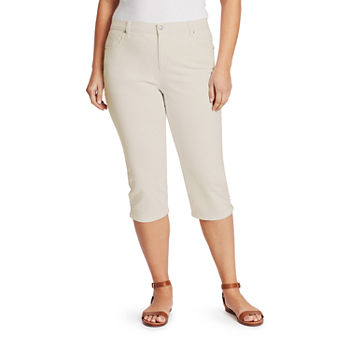 Gloria Vanderbilt Amanda High Rise Plus Capris