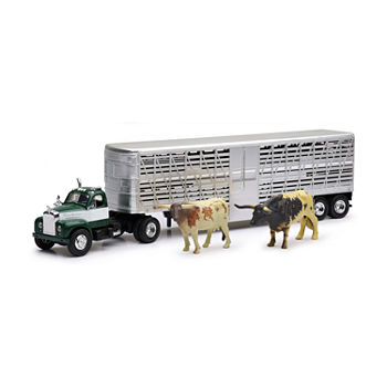 1:43 Peterbuilt Vintage Cattle Trailer