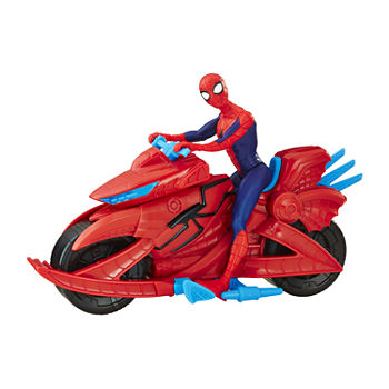 Hasbro Spider-Man Figure With Cycle