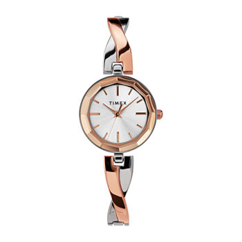 Timex Womens Rose Goldtone Bracelet Watch - Tw2u69600ji