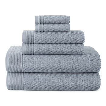 Linden Street Performance 6pc Bath Towel Set