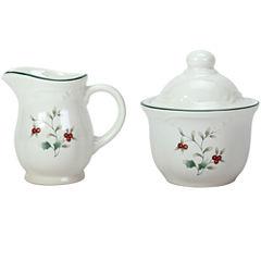 Pfaltzgraff® Winterberry Sugar And Creamer Set