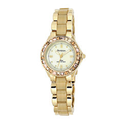 Armitron® Now® Womens Crystal-Accent Horn-Look Bracelet Watch