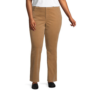 8c2a5f3079f6c CLEARANCE Plus Size Pants for Women - JCPenney