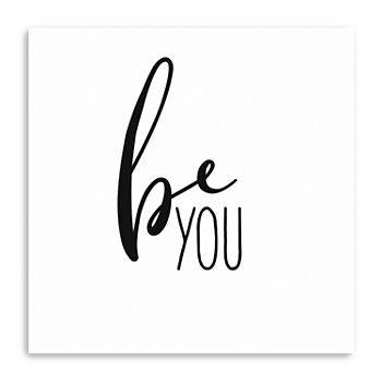 Be You Giclee Canvas Art