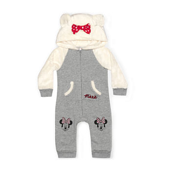 Disney Baby Girls Long Sleeve Jumpsuit