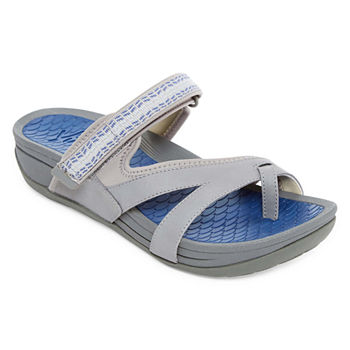 Slide Sandals Gray Under  20 for Memorial Day Sale - JCPenney 31d988aac