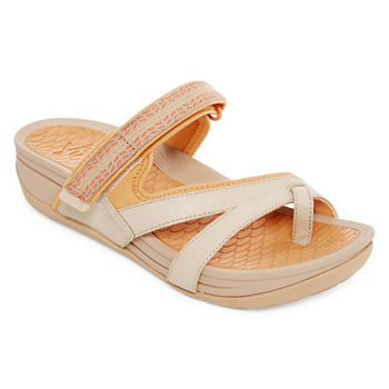 2a01fd40e Slide Sandals Sandals Women s Comfort Shoes for Shoes - JCPenney
