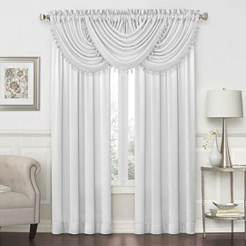 Waterfall White Curtains Drapes For Window