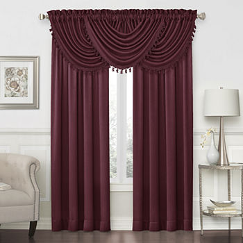 valance purple home scarves curtain treatments compressed the elements depot for valances in l b n scarf windows window