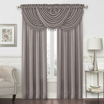 Gray Valances for Window - JCPenney