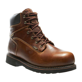 ad6bdcb2e333f7 Wolverine Mens Rancher Slip Resistant Steel Toe Pull-on Work Boots. Add To  Cart. wide width available
