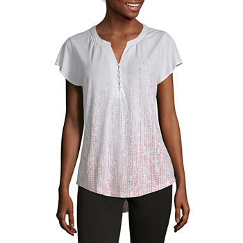 ebb5b2156 Women's T-Shirts | V-Neck Shirts for Women | JCPenney