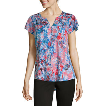 ee6546c2e1 Women's T-Shirts | V-Neck Shirts for Women | JCPenney
