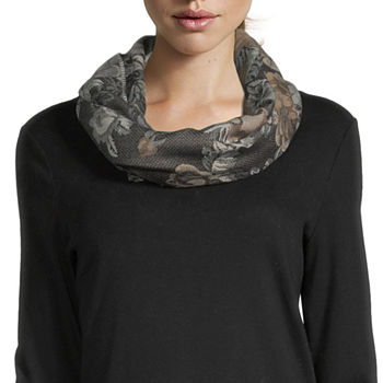 V. Fraas Floral Cold Weather Scarf