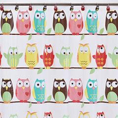 Owls PEVA Shower Curtain