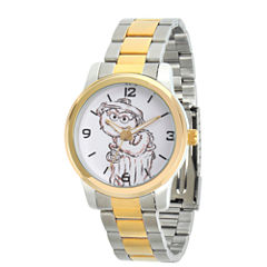Sesame Street Unisex Two Tone Bracelet Watch-Wss000023