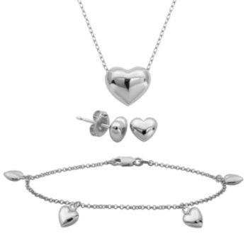 Fine Jewelry 1/5 CT. T.W. Diamond Mom and Baby 4-pc. Jewelry Set