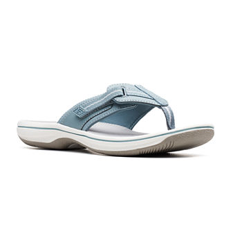 0f082162f04c Clarks Blue Women s Sandals   Flip Flops for Shoes - JCPenney