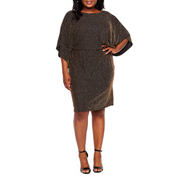 Plus Size Blouson Dresses Dresses for Women - JCPenney