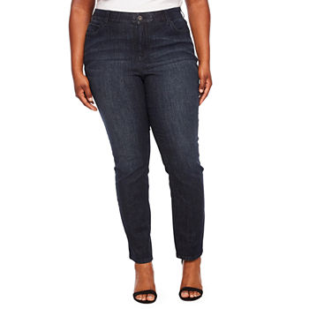 9fcbfb72ffb Plus Size Skinny Leg Jeans for Women - JCPenney