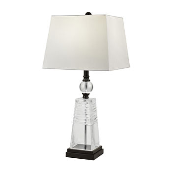 Dale Tiffany Lucian Crystal Crystal Table Lamp