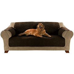 Yes Pets Quilted Micro-Suede Furniture Protector