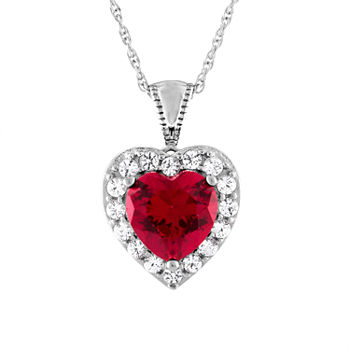 Ruby fine necklaces pendants for jewelry watches jcpenney 4686 aloadofball Gallery