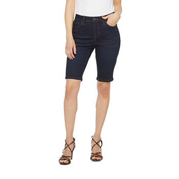 "Bold Elements Womens Mid Rise 12"" Bermuda Short"