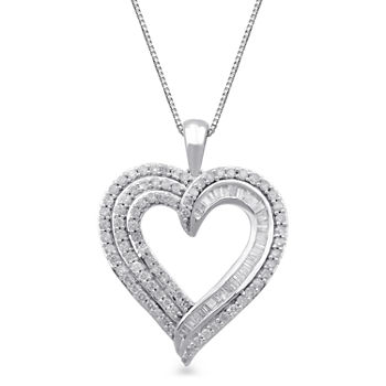 Diamond heart fine necklaces pendants for jewelry watches jcpenney aloadofball Choice Image