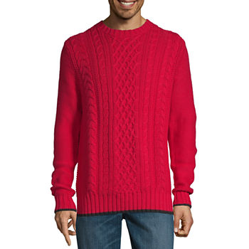 Red Sweaters for Men - JCPenney 212ae672b