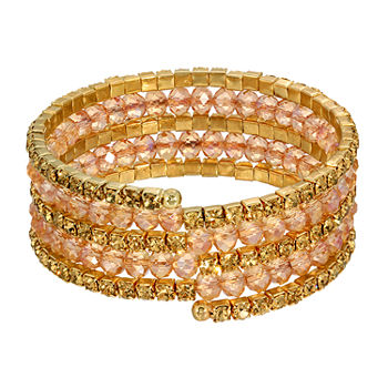 1928 Bead Stretch Bracelet
