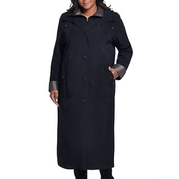 Miss Gallery Midweight Raincoat-Plus