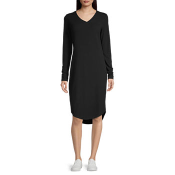 Stylus Long Sleeve T-Shirt Dress