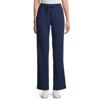 St. John's Bay Womens Mid Rise Straight Sweatpant