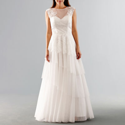 JCPenney Wedding Dresses with Bow