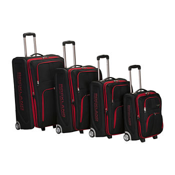 Rockland Varsity 4-pc. Luggage Set