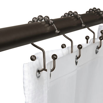 Shower Curtain Hooks Brown Shower Curtains for Bed & Bath - JCPenney