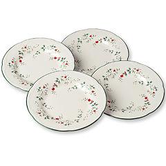 Pfaltzgraff® Winterberry Set of 4 Salad Plates