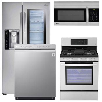 Lg Black Stainless Kitchen Packages for Appliances - JCPenney