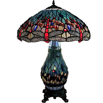 Table lamps jcpenney warehouse of tiffany metal table lamp aloadofball Image collections